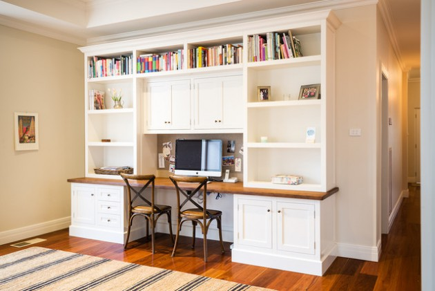 19 Brilliant Home Office Designs With Traditional Influence
