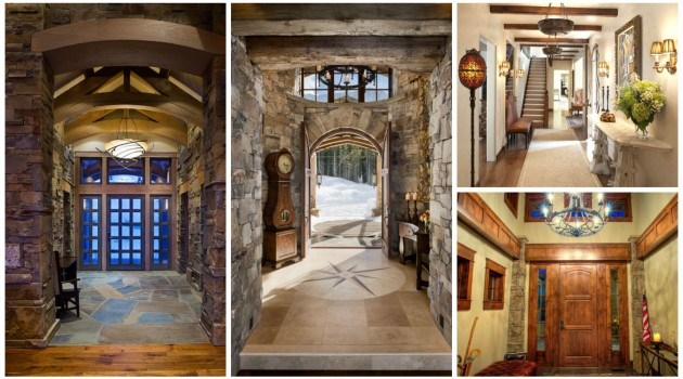 16 Charming Rustic Entrance Designs That Abound With Elegance & Warmth