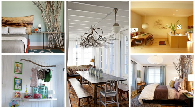 17 Charming Ideas To Decorate Your Home With Tree Branches