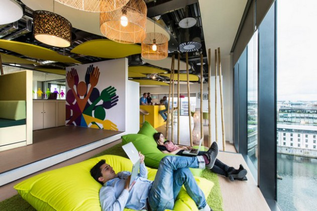 Cool Office Designs to Inspire You to Make Your Own Creative Work Environment