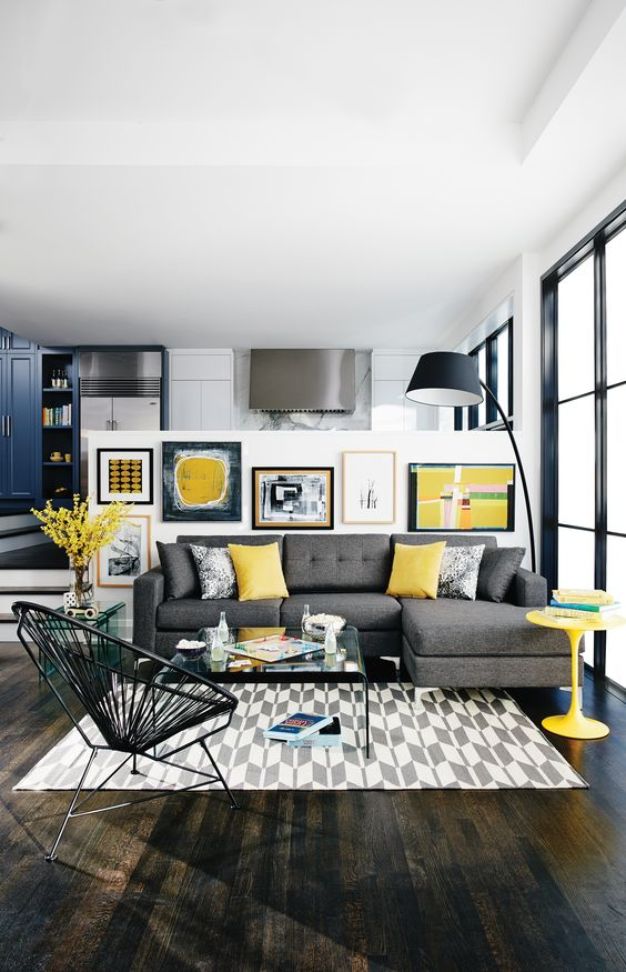 Enter Serenity In Your Interior  12 Inspirational Examples How To Use Yellow Details