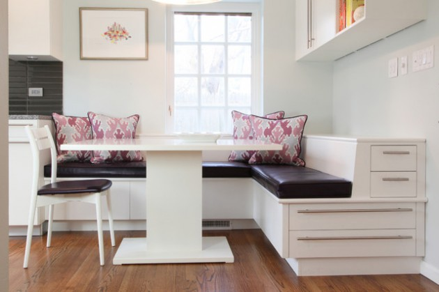 18 Brilliant Kitchen Designs With Kitchen Banquette