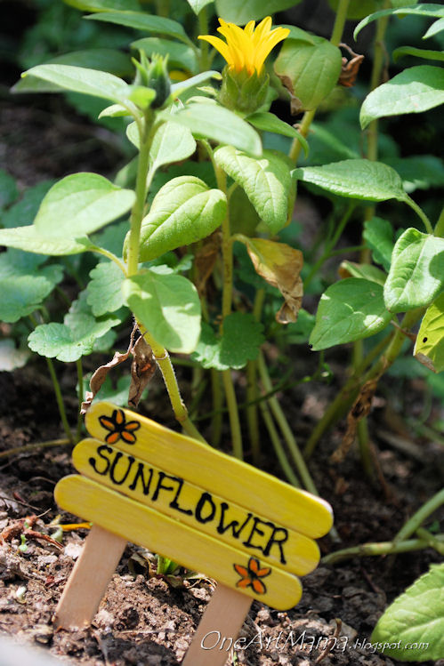 15 Adorable DIY Signs & Markers To Give Schmeck To Your Garden