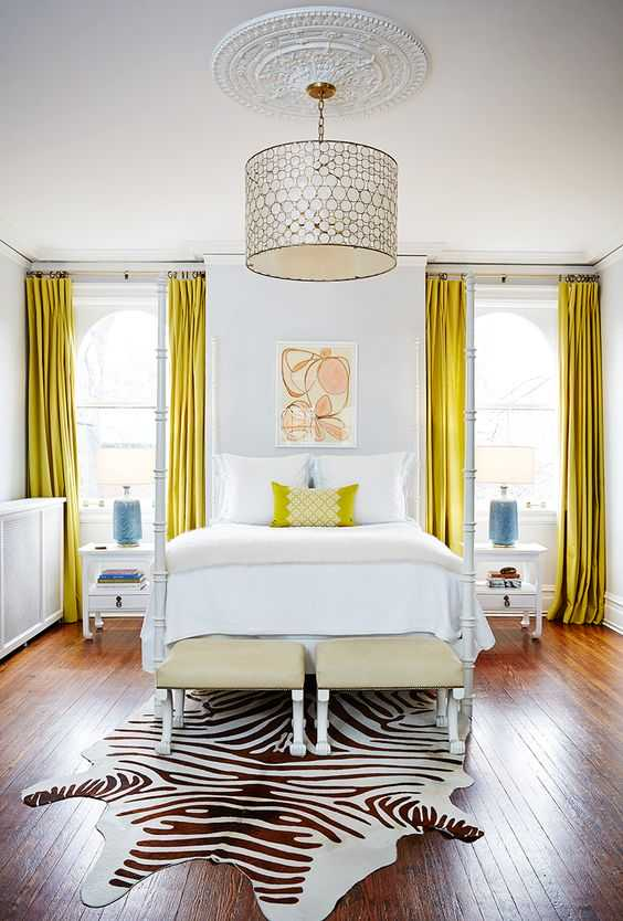 Enter Serenity In Your Interior- 12 Inspirational Examples How To Use Yellow Details