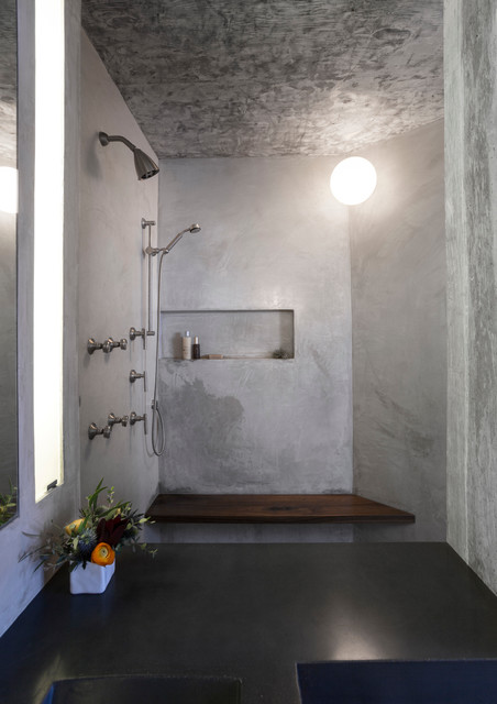 17 Amusing Bathroom Designs With Concrete That Everyone Need To See