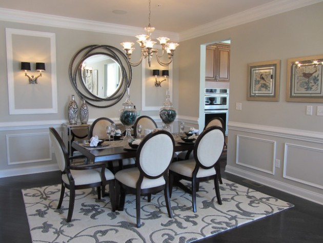 16 Stunning Dining Room Designs With Mirrors That Will Delight You