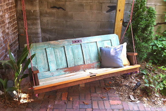 Garden Bench Ideas Upcycle