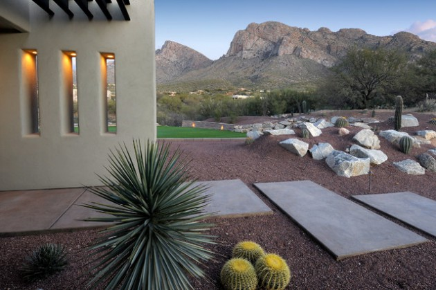 16 dazzling desert landscape designs that you are going to for Desert landscape design ideas