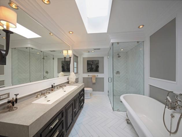 Long Narrow Bathroom Tiles