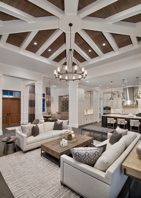 17 Fascinating Open Concept Living Rooms That Will Attract Your Attention