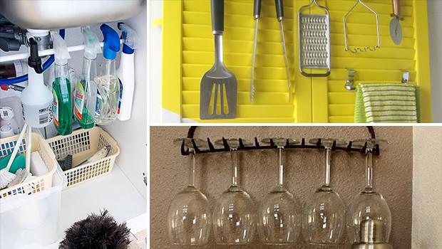 15 Effortless DIY Kitchen Organization & Storage Ideas