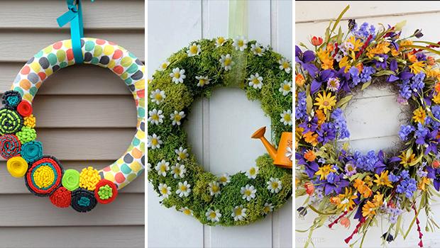 Simple Diy Wreaths For Front Door