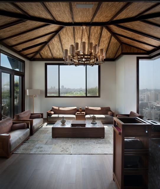 Interior Design For Condo Living: 15 Peaceful Asian Living Room Interiors Designed For Comfort