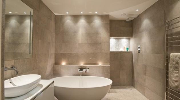 19 Spectacular Master Bathrooms With Freestanding Bathtub