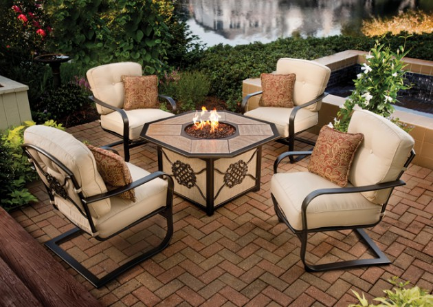 17 Captivating Patio Designs Decorated In Rustic Style