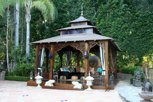 16 Irresistible Asian Patio Designs For Your Backyard