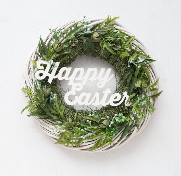 16 Jolly Handmade Easter Wreath Designs For The Upcoming Holiday