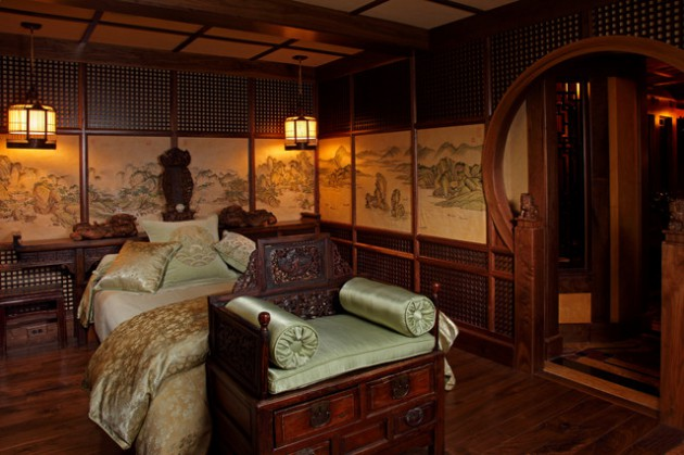16 soothing asian bedroom designs for the ultimate enjoyment for Soothing bedroom designs