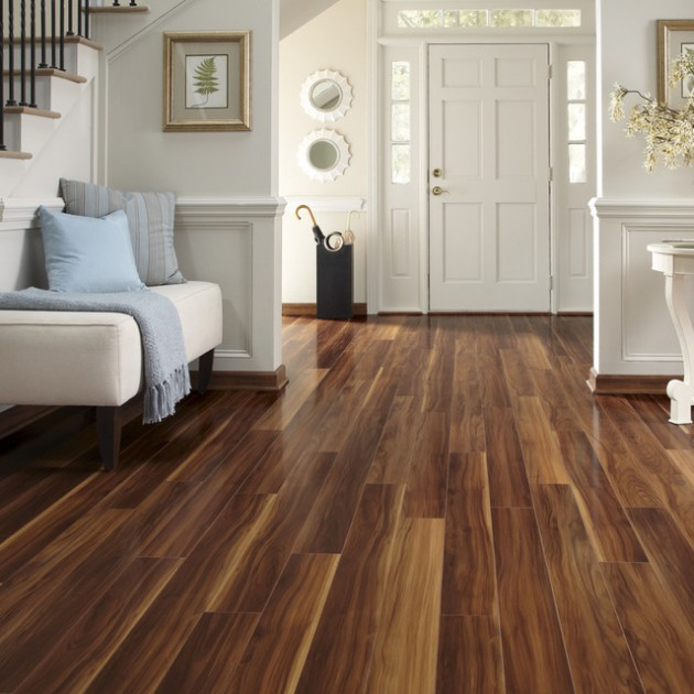 Delightful Interior Designs With Laminate Flooring
