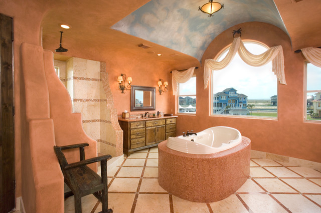 17 Colorful Southwestern Bathroom Designs To Inspire You