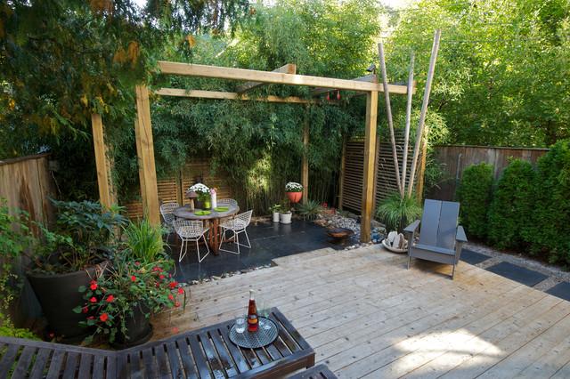 17 outstanding asian deck ideas for a garden upgrade for Japanese decking garden