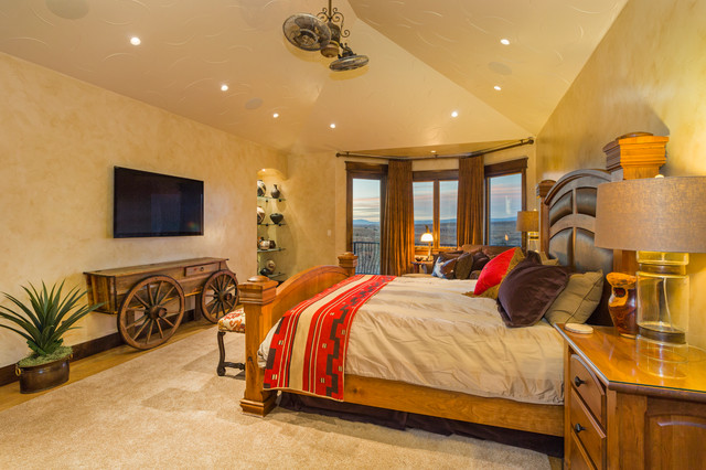 17 relaxing southwestern bedroom designs that will ensure - Room ideas for small rooms ...