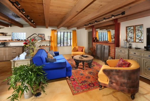 17 Stirring Southwestern Living Room Interiors Made To Inspire