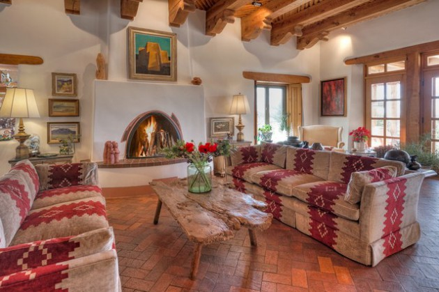 17 Stirring Southwestern Living Room Interiors Made To Inspire