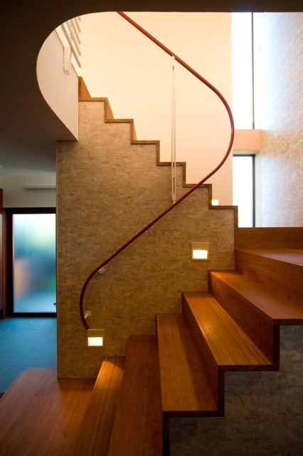 17 Uplifting Asian Staircase Designs That Will Captivate You With Elegance