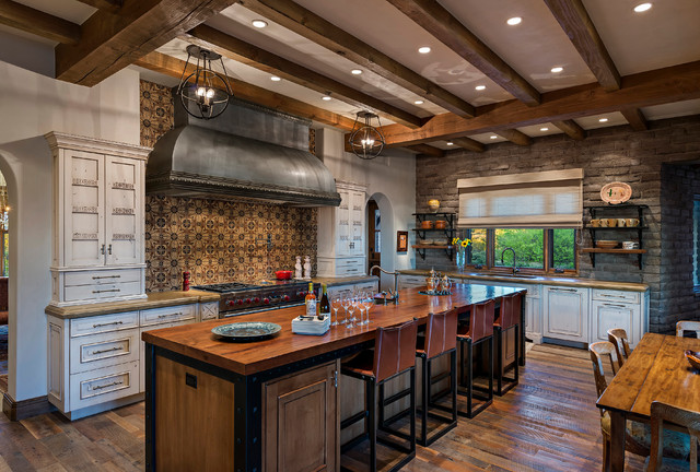 warm southwestern style kitchen interiors youre