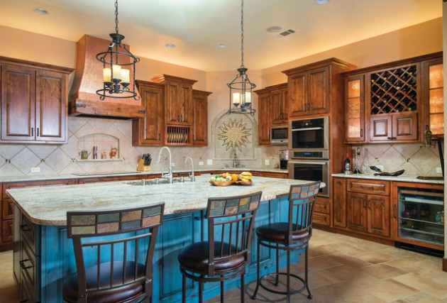 17 Warm Southwestern Style Kitchen Interiors Youre Going To Adore