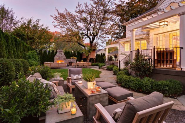 18 Gorgeous Traditional Outdoor Rooms to Provide You Utmost Relaxation