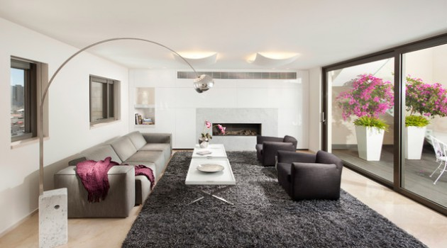 18 Beautiful Living Room Designs With Stylish Floor Lamps