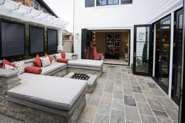 19 Built-In Seating Items That Will Improve The Look Of Every Yard