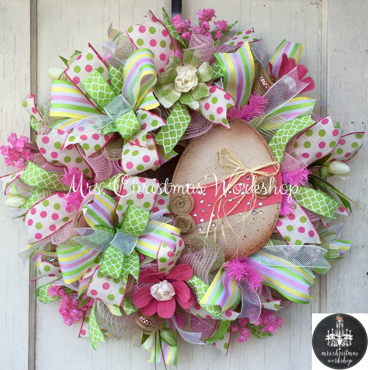 18 cheerful handmade easter wreath designs to get your home in the festive spirit - Easter Wreaths