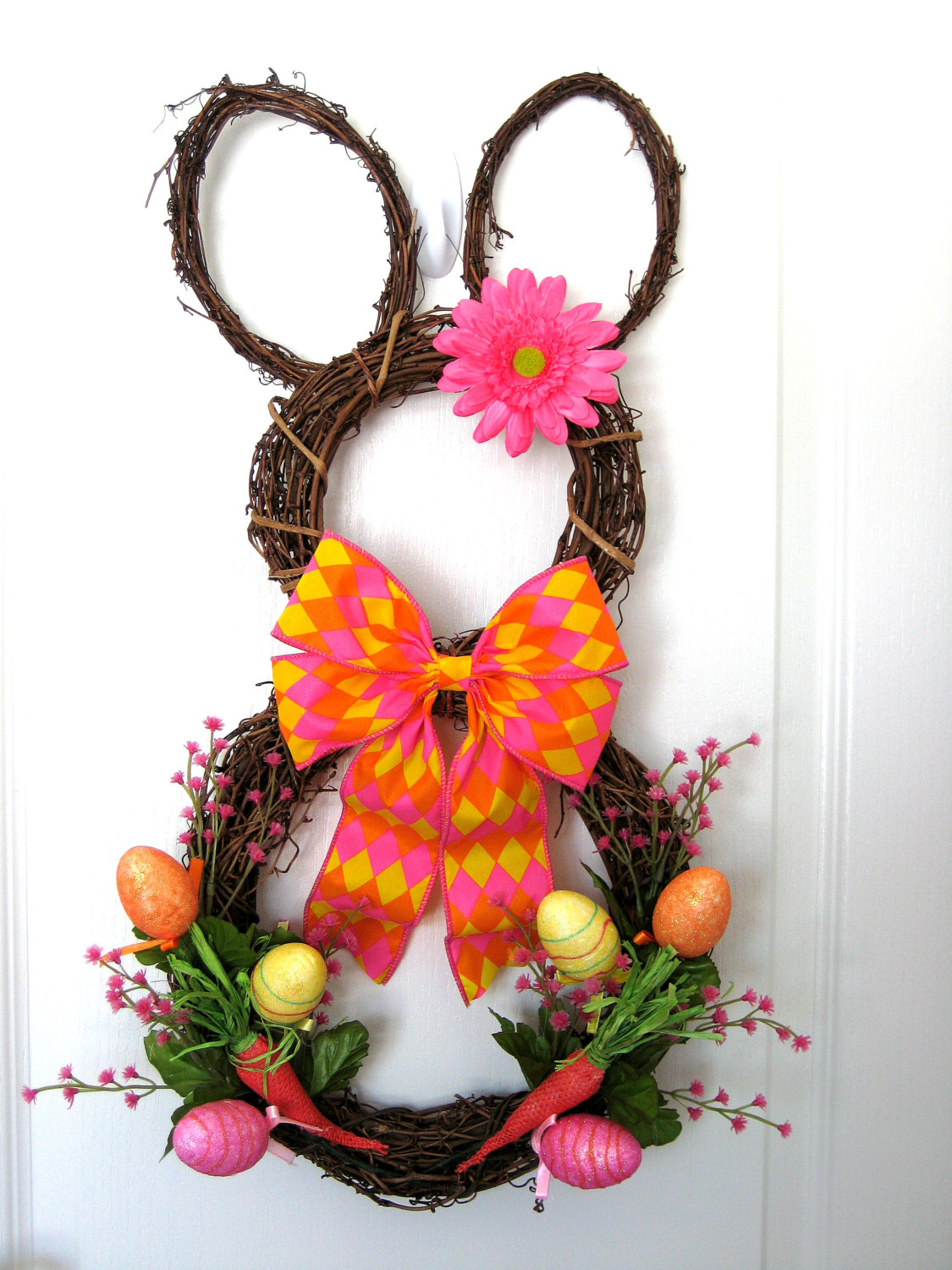 18 Cheerful Handmade Easter Wreath Designs To Get Your ...