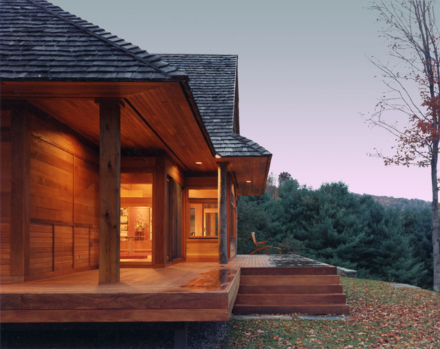Flat Front Porch Roof