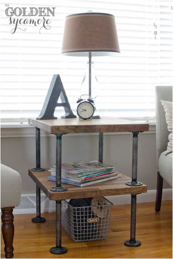 19 Super Cool Industrial Furniture Designs That You Can Easily DIY