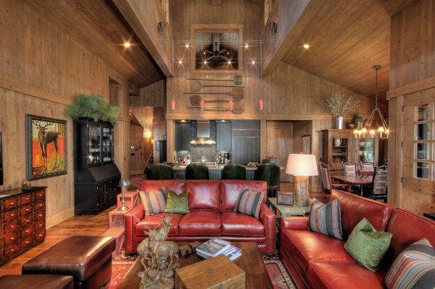 17 Brilliant Living Room Designs With Leather Furniture That Will Charm You