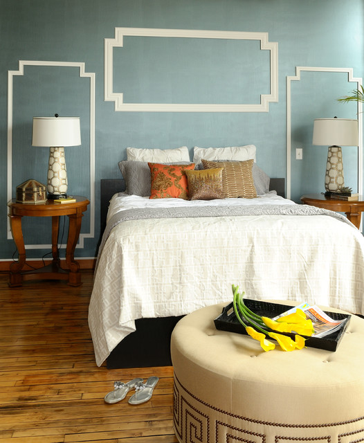 19 Alluring Bedrooms With Accent Wall That Will Steal The Show