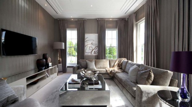 16 Spectacular Grey Living Room Designs That Will Attract Your Attention