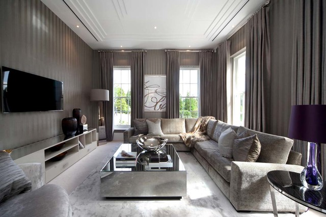 16 Spectacular Grey Living Room Designs That Will Attract Your Attention Part 19