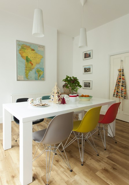 21 Cheerful Dining Rooms With Colorful Chairs For Everyone Who Thinks Outside The Box