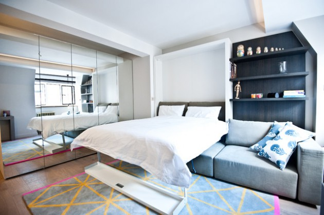 18 Super Smart Ideas For Decorating Small Compact Bedrooms