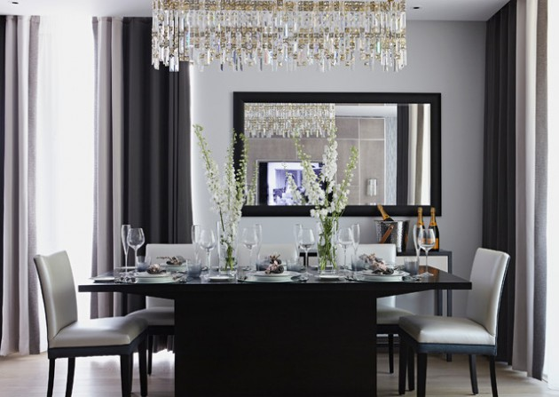 16 stunning dining room designs with mirrors that will