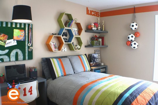 Top 18 The Most Coolest Shelves Designs For The Child's Room