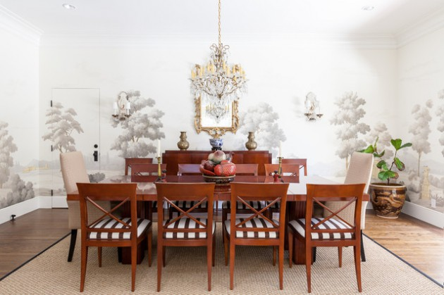 19 Attractive Traditional Dining Rooms That Will Provide You Pleasant Stay