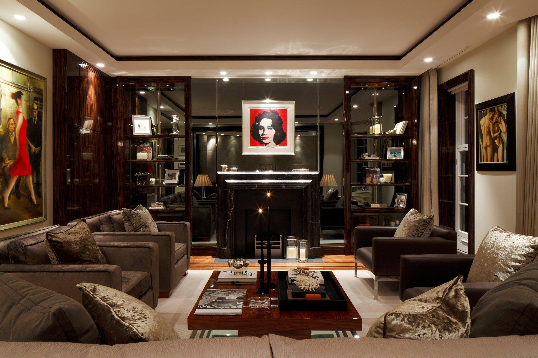 Mayfair london apartment for Bathroom interior designers in chandigarh