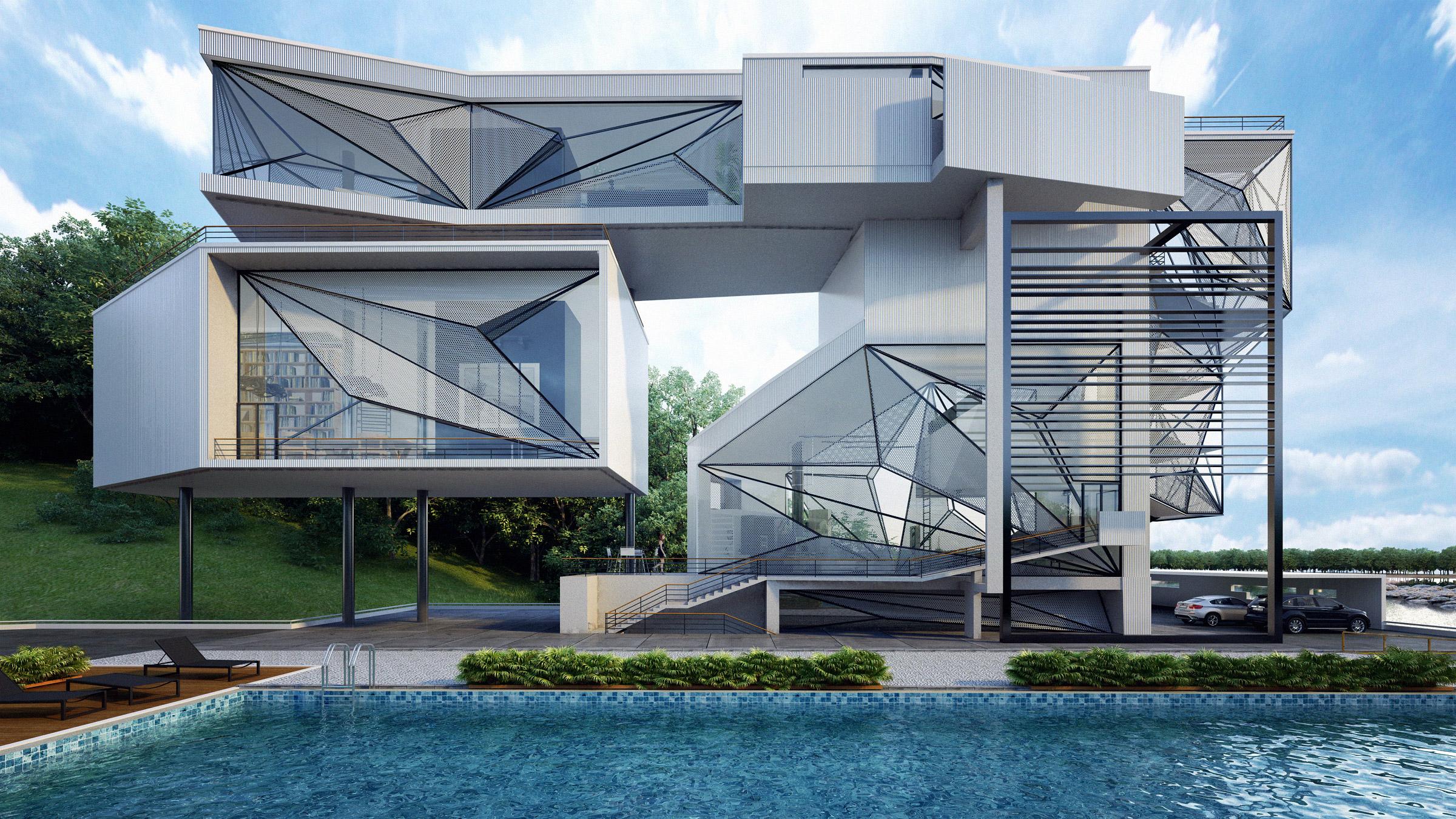 Aviator 39 s villa a unique house for a retired pilot for Architecture troglodyte