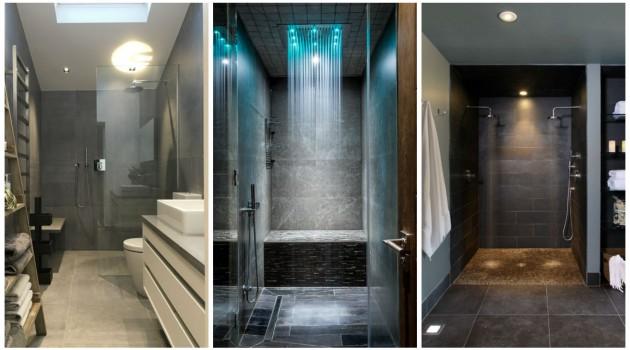 16 Magnificent Shower Designs That Abound With Elegance
